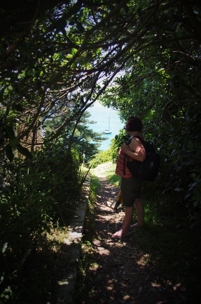 The path to Gunyah