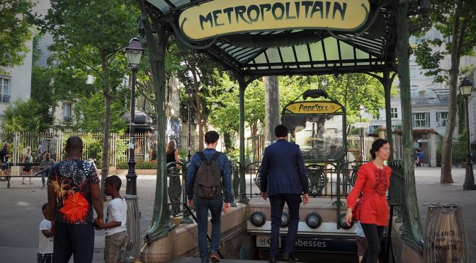 Paris Kinda Smells of Piss: 4-7 July 2015, Dijon to Paris