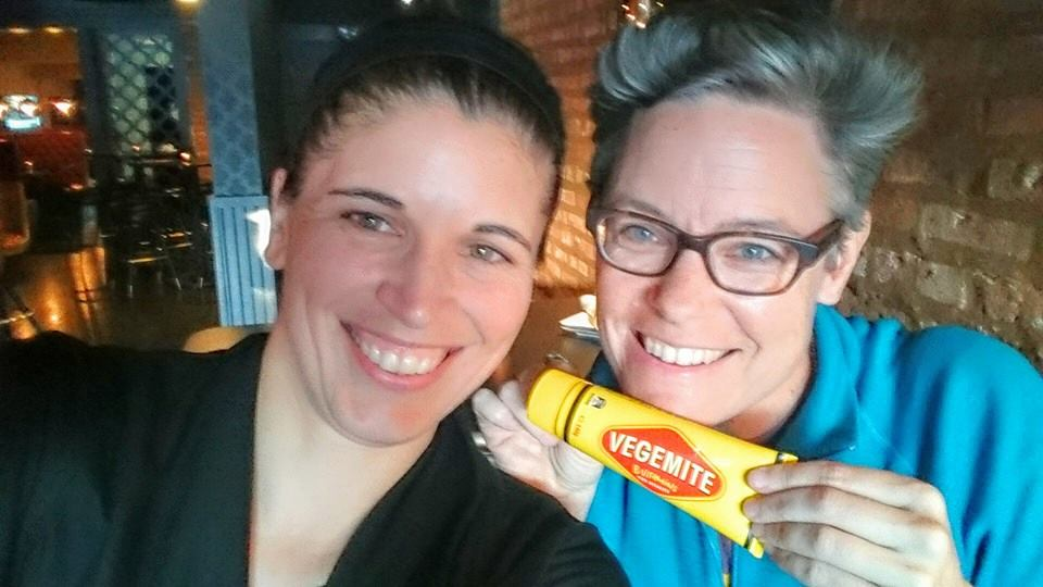 She Brought Me Vegemite!